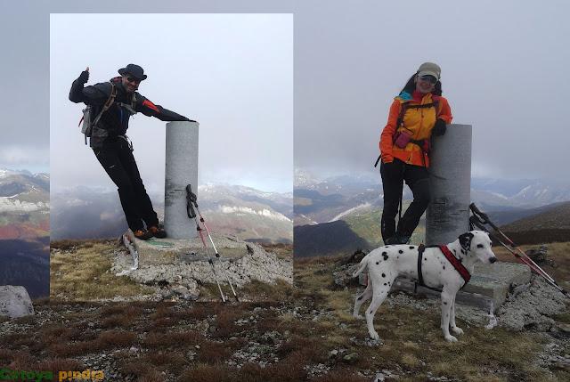 En la cima del Pico Pandián el más alto de la Sierra de Hormas en la Montaña de Riaño