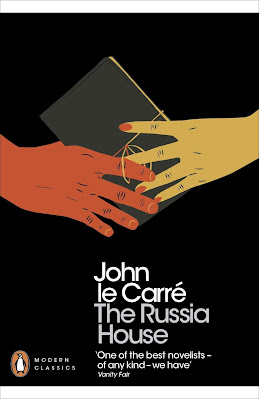 The Russia House by John le Carre book cover