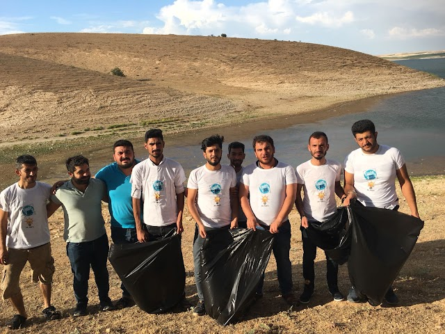Bozova AK Gençlikten çevre temizliği