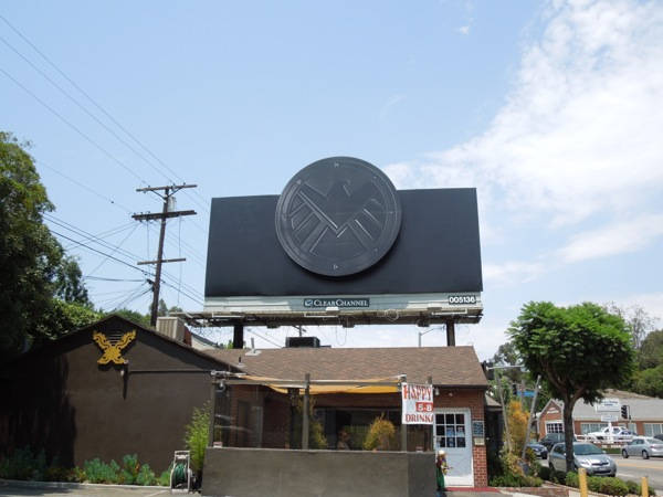 Marvel Agents of S.H.I.E.L.D. teaser billboard