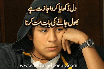 Dil Dukhaya Kero Ijaazat Hay