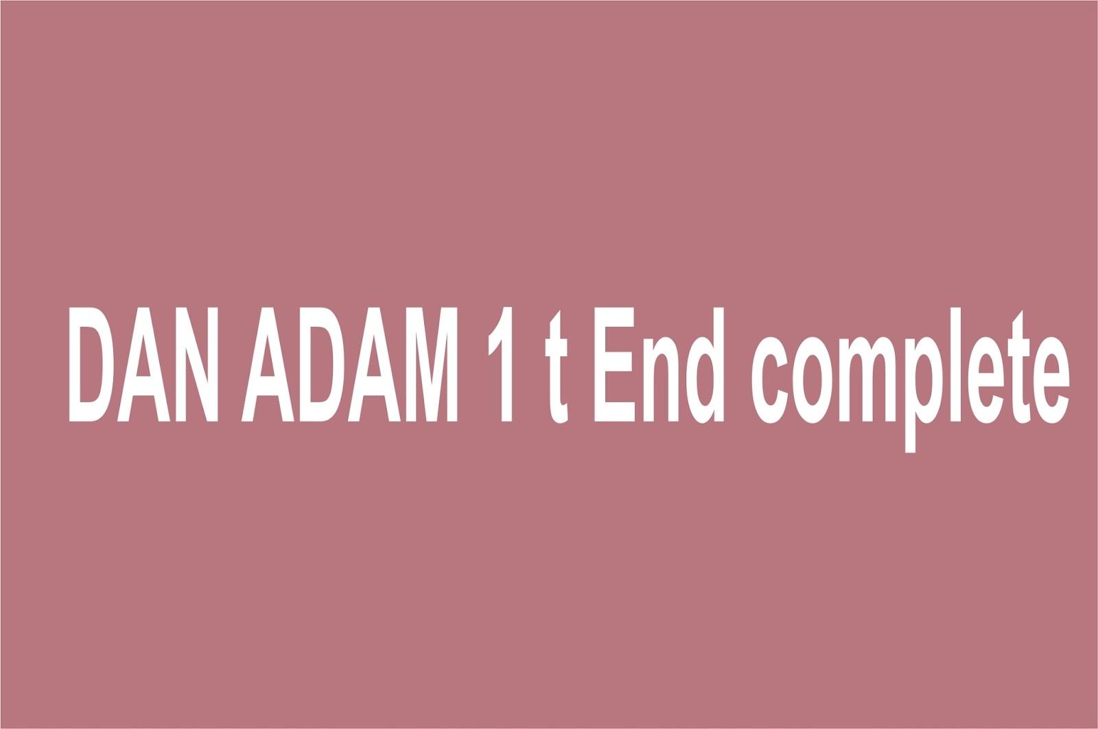 DAN ADAM complete - Gidan Novels | Hausa Novels