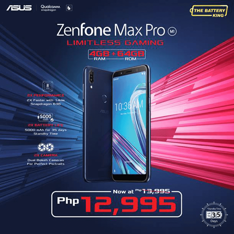 Sale Alert: ASUS slashes the price of ZenFone Max Pro M1 (4GB RAM/64GB ROM)