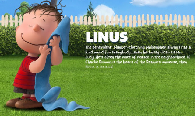 Linus from The Peanuts Movie