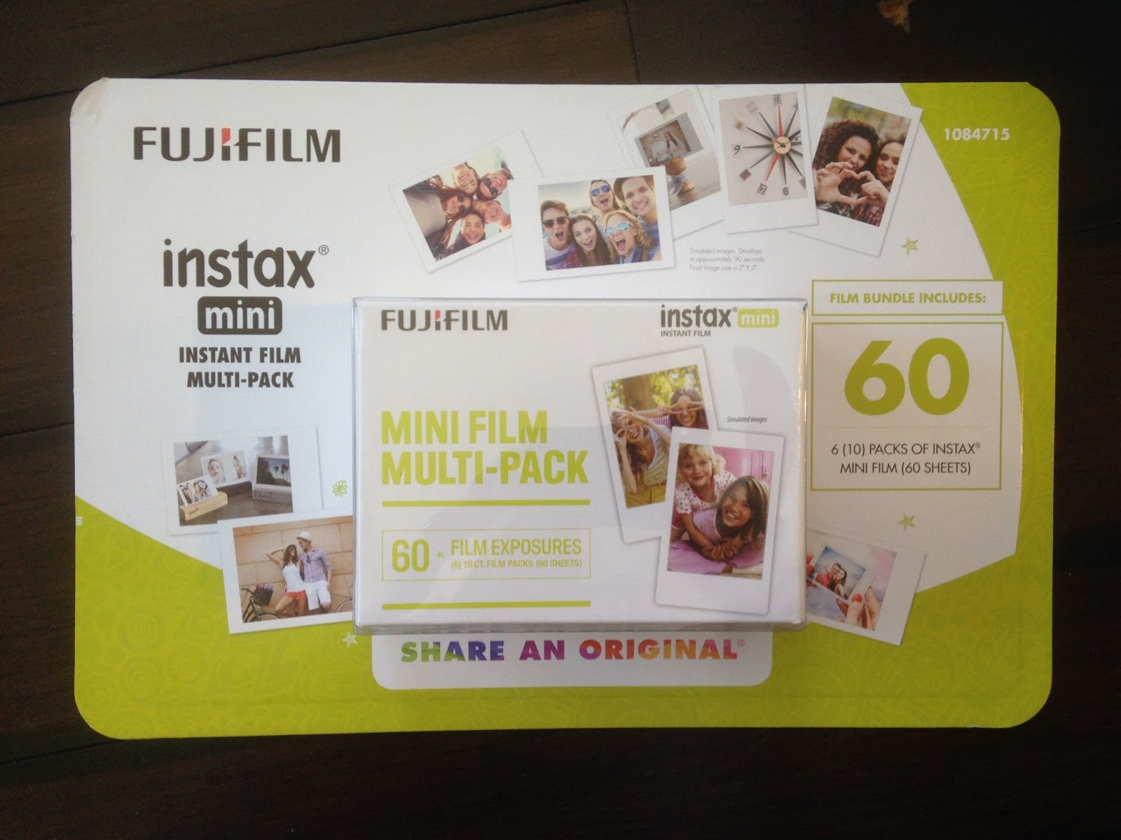 Costco 1084715 - Fuji Instax Mini Instant Film Multi-Pack: for your FujiFilm Instax Camera, this generation's Polaroid
