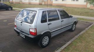 Fiat uno é furtado no centro de Ubajara