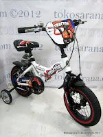4 Sepeda Anak United Tractor Rangka Aloi 12 Inci