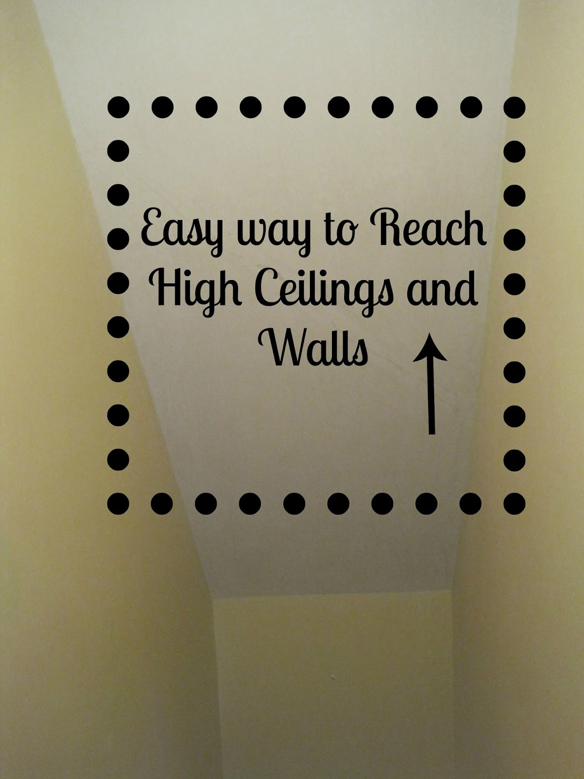 decorated chaos tip for sanding high walls or ceilings. Black Bedroom Furniture Sets. Home Design Ideas