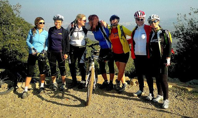 חוג רכיבת אופניים קבוצת נשים בנימינה קיסריה זכרון יעקב