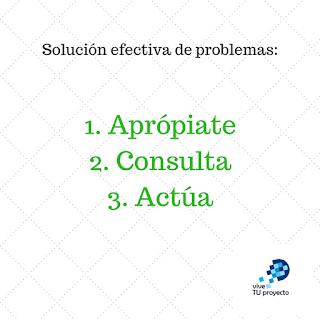 Sigue los tres pasos esenciales para la solución efectiva de problemas