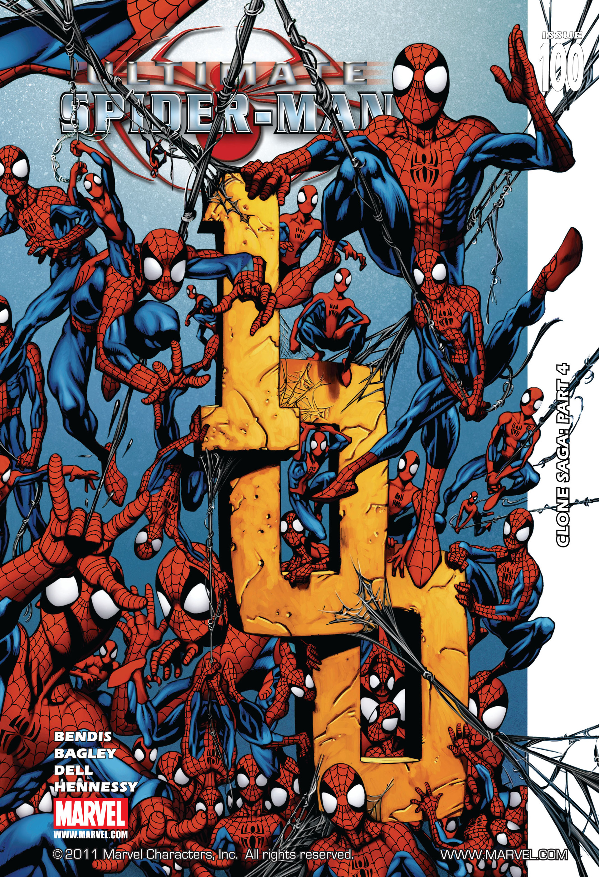 Ultimate Spider-Man (2000) 100 Page 1