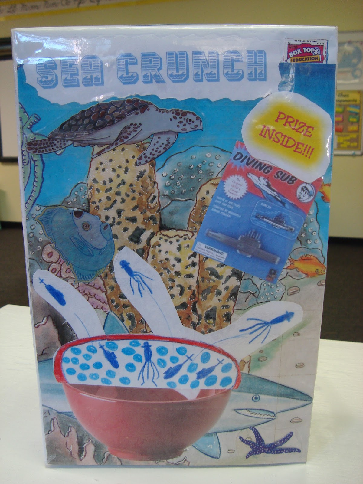5th And Fabulous Cereal Box Book Reports