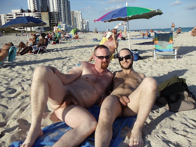erection at nude beach