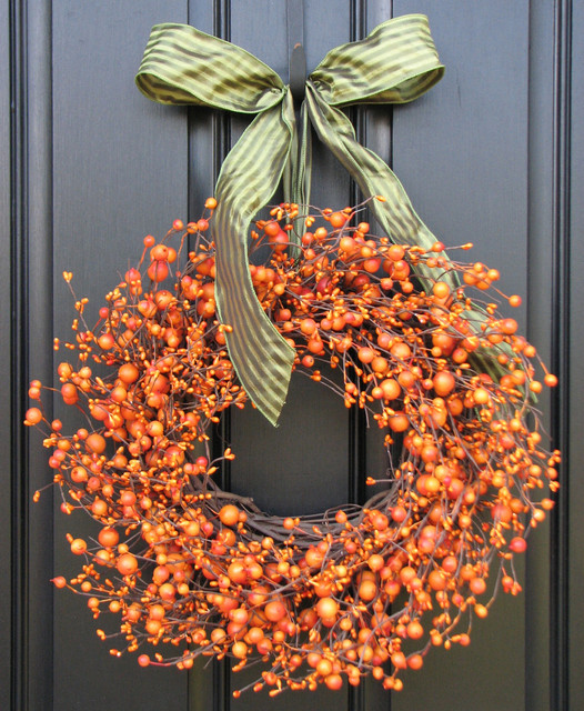Outside Fall Decorations: Autumn Crafts Picture