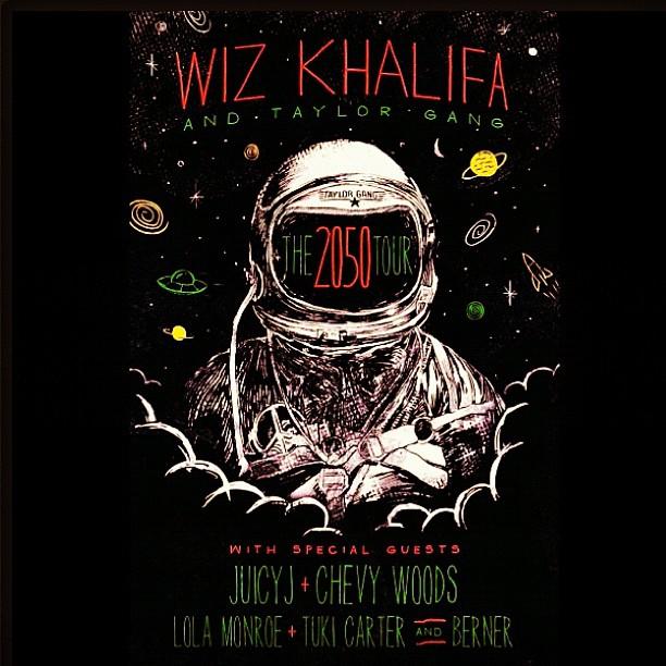Wiz Khalifa Brasil Tour