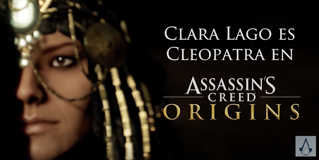 Clara Lago será Cleopatra en Assassin's Creed Origins