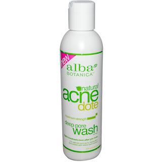 غسول رائع للقضاء على حب الشباب من اي هيرب Alba Botanica, Natural Acne Dote, Deep Pore Wash, Oil-Free, 6 fl oz (177 ml)