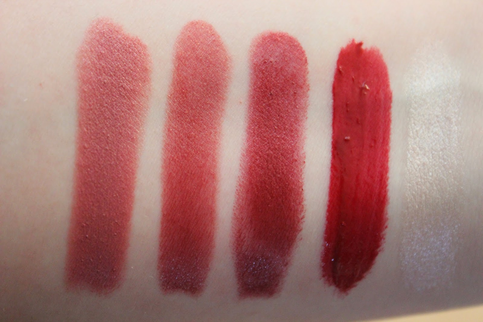Christina Martina Ulta Collection Lipstick Swatches And