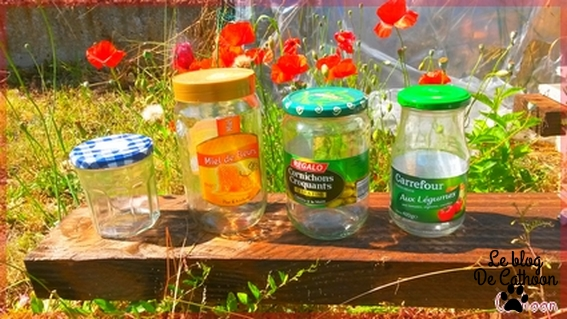 Mason Jar bocal recyclable