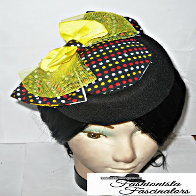 Buy African print fascinators hats Nairobi Kenya