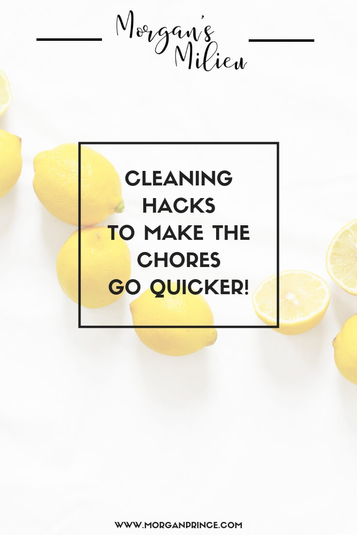 Cleaning Hacks To Save You Time! | Want to save time on the cleaning? Check out these hacks!