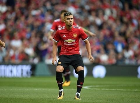 Andreas Pereira đã từng là ngôi sao sáng dưới thời Van Gaal.