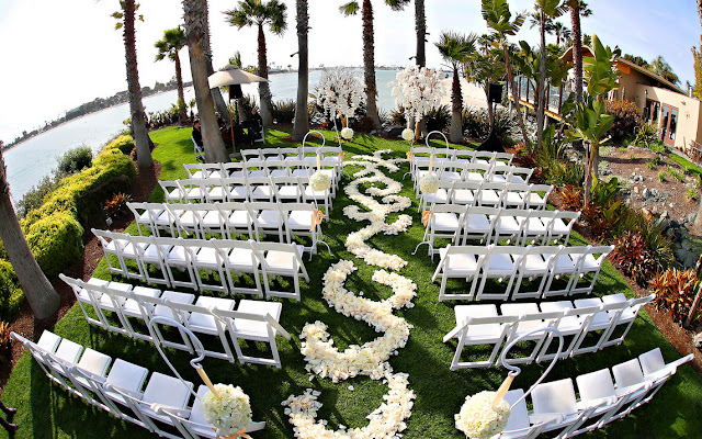 Waterfall Wedding Venues Paradise Point San Diego