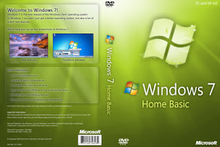 Windows 7 Home Basic 32Bit 64Bit Download