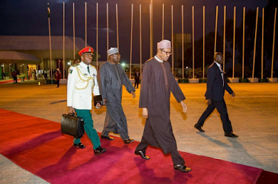"""Abuja"""" President Buhari breeze out from Nigeria for China on a official visit"""