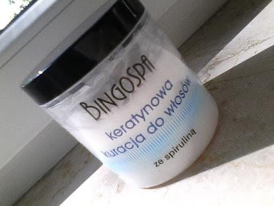 BingoSpa, Keratynowa kuracja do włosów ze spiruliną