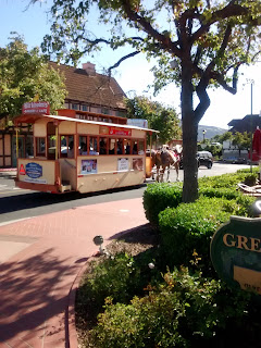 horse carriage, solvang