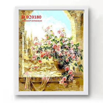 Tranh son dau so hoa D020180