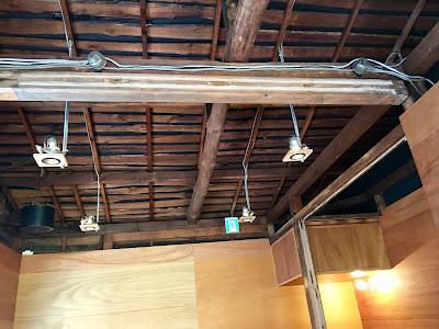 三軒茶屋のコーヒーライツの天井