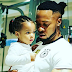 OMG! She's so beautiful! Flavour said: Adorable photo of Flavour N'abania and his very cute daughter