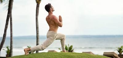 mengatasi rambut rontok dengan yoga