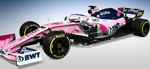 Racing Point Formula 1 team unveils new car for 2019 season