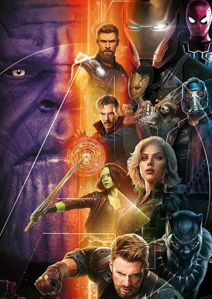 Avengers: Infinity War Poster Karakter