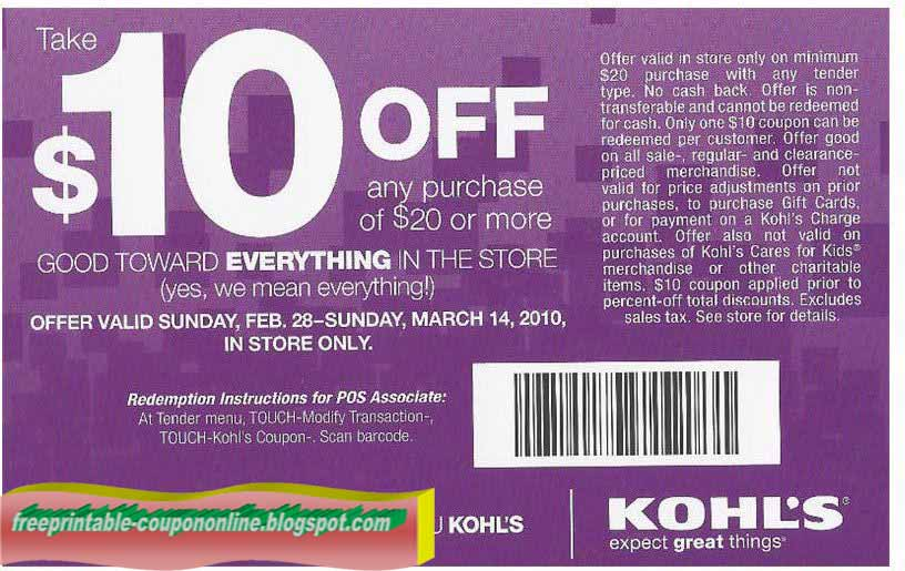 Kohls Update – The 30% off Promotion Code will return on November 7th! Kohls sells many items for the home including bedding sets, kitchen appliances, luggage and home décor items.