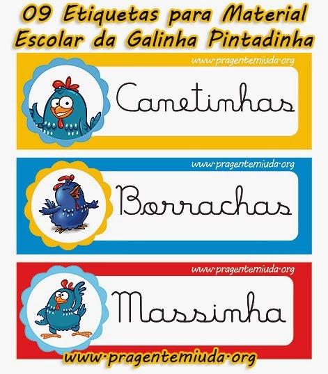 Pin By Abhijay Janu On Homes: Etiquetas De Identificação Do Material Escolar Da Galinha