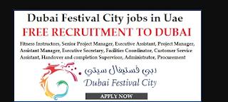 Jobs in Festival Dubai  UAE 2017
