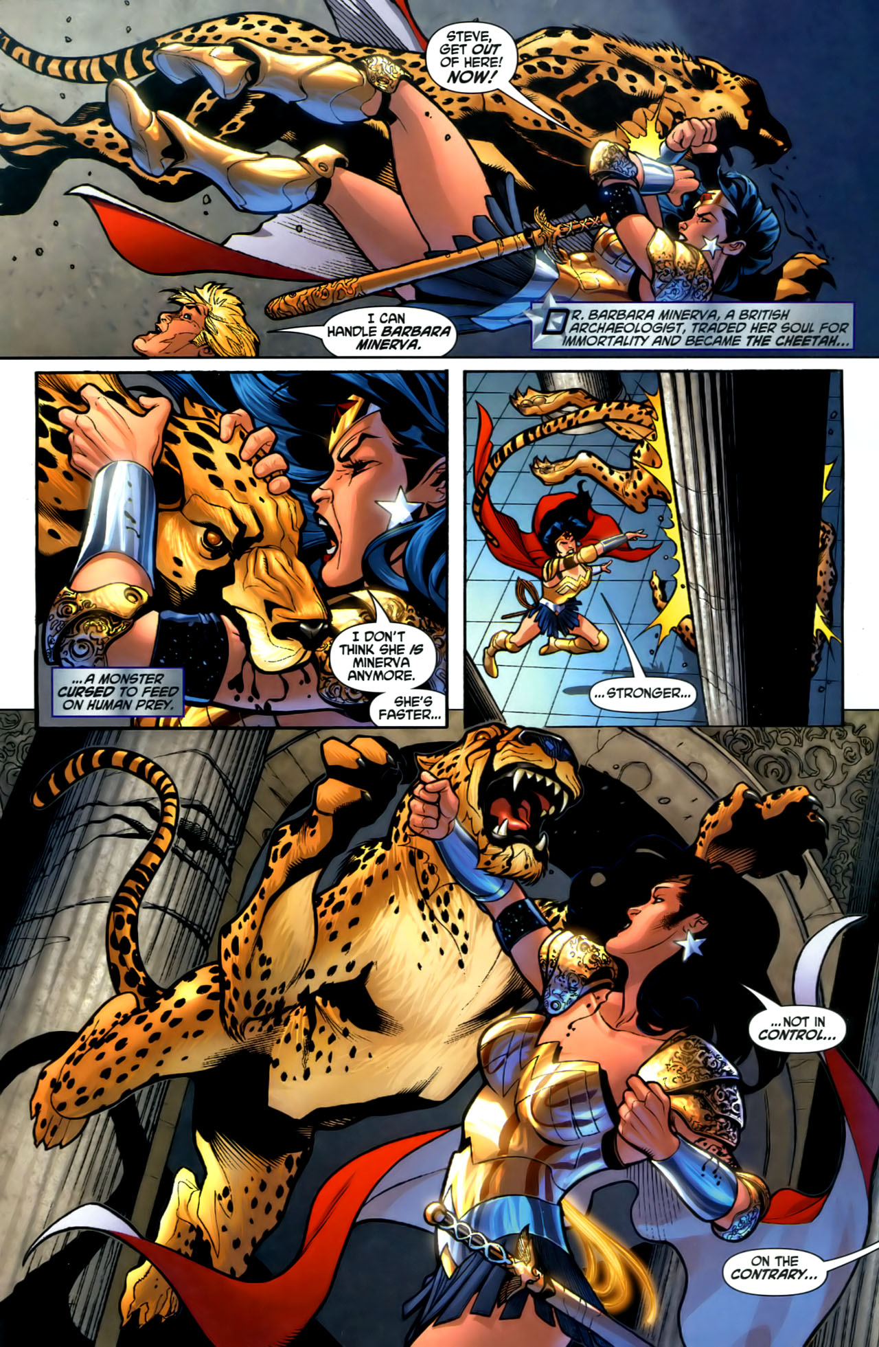 Read online Wonder Woman (2006) comic -  Issue #1 - 10