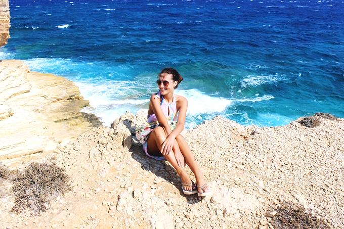 Gala beach Koufonisia island