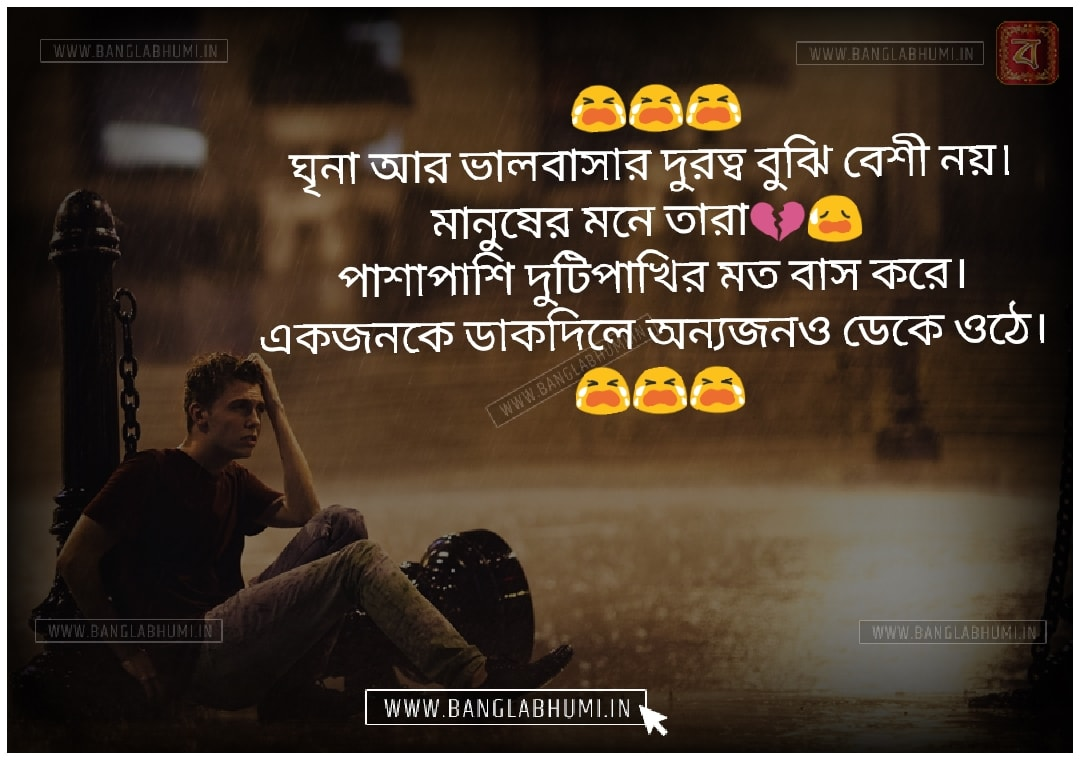 Bangla Whatsapp and Facebook Sad Love Shayari Status Free Download & share