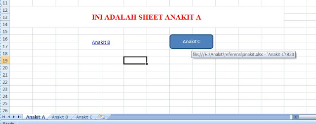 menambah menu antar sheet di excel