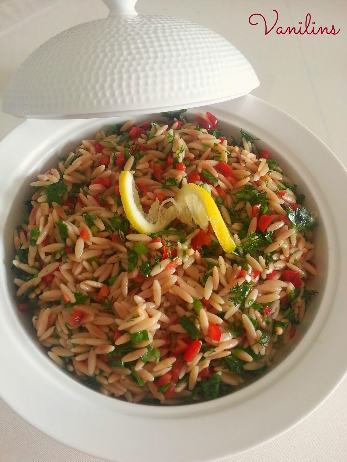 Arpa Şehriye Salatası Tarifi Videosu