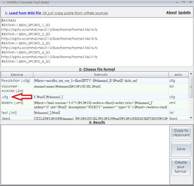 تحويل ملف m3u الى cfg,أداة لتحويل الملفات من نوع .m3u إلى ملفات .cfg و.lst ,برنامج لتحويل الملفات من نوع .m3u إلى ملفات .cfg و.lest ,لتحويل الملفات من نوع .m3u إلى ملفات .cfg ,طريقة تحويل روابط IPtv الى ملف iptv.cfg ,شرح بالفيديو تحويل ملف iptv بصيغة m3u الى CFG ,
