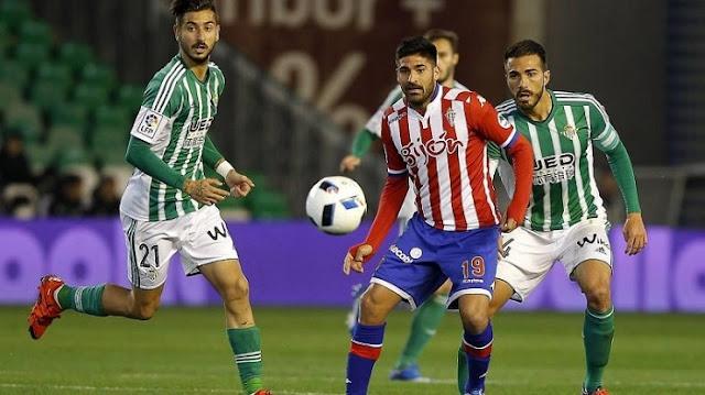 Sporting Gijon vs Real Betis en vivo