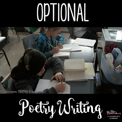 If you're looking for poetry ideas for upper elementary, this post includes reading and writing options.