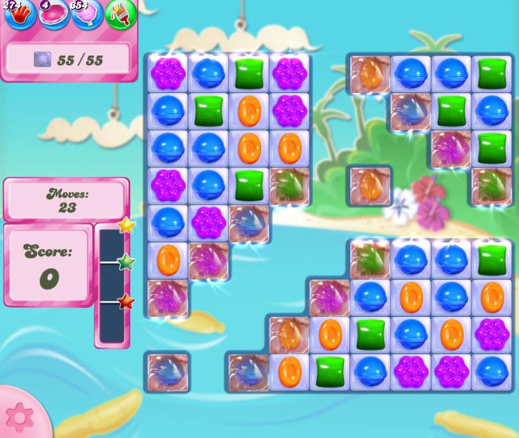 Candy Crush Saga level 2685