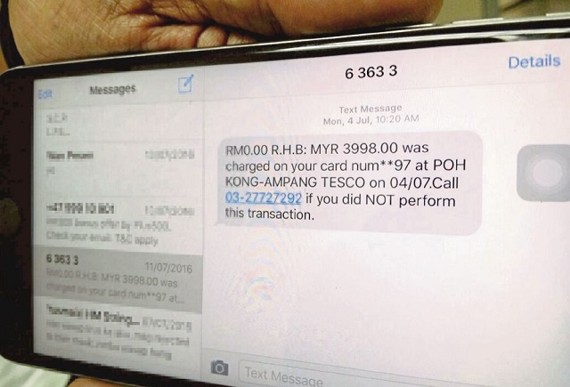 Hati-Hati, SMS Perangkap Untuk Curi Maklumat Mangsa